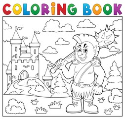 Coloring book orc theme 2