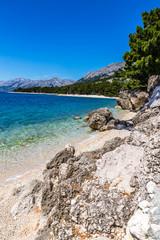 Rocky Seashore-Makarska Riviera, Dalmatia, Croatia