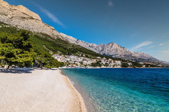 Brela Village,Beach And Biokovo - Makarska,Croatia