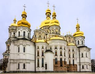 Foto op Aluminium Kiev Kiev, Ukraine. Church, Pechersk Lavra Monastery