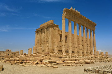 Syria. Palmyra (Tadmor). The sanctuary of Bel. This site is on UNESCO World Heritage List