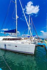Yacht marine in Cienfuegos