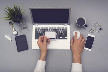 Businesscard and webdesign mockup