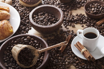 Wall Murals Cafe coffee theme