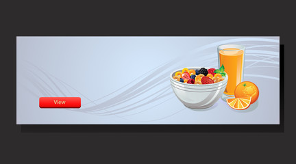 Cereal Banner