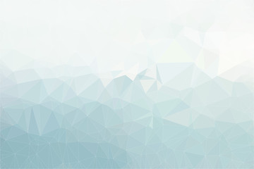 Pastel polygonal mosaic background, illustration