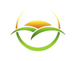 Sunrise Hill Crescent Emblem