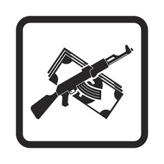 guns and money icon