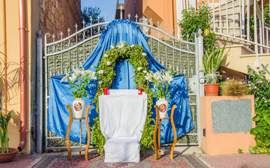 celebration the Feast of Corpus Christi (Body of Christ) also known as Corpus Domini
