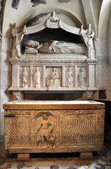 Sarcophagus of Saint Domnius in Split, Croatia