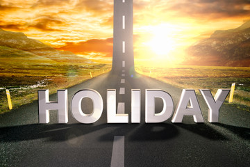 holiday road sky upwards sky sun highway up grow motivation