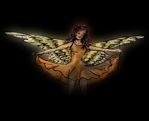 Engel in de nacht