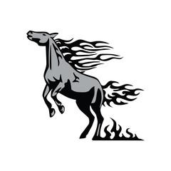 The Elegant Horses Of Fire