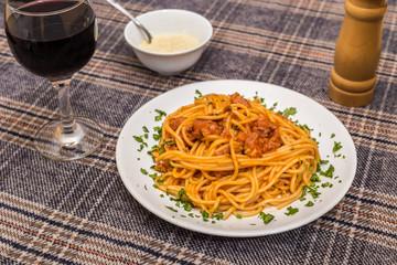 Classic spagetti bolognese