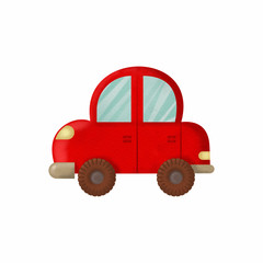 toy red car