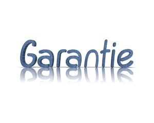 Garantie 3d wort