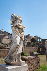 Vestal Virgin Statue from Ancient Rome