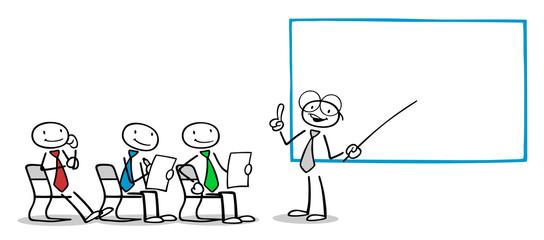 Lehrer bei Business Weiterbildung