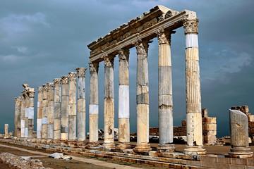Laodikeia am Lykos Ancient City in Denizli Türkei