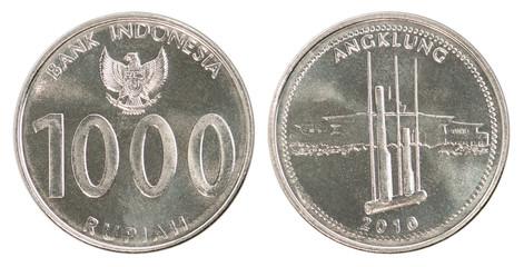 Indonesian rupiah coin set
