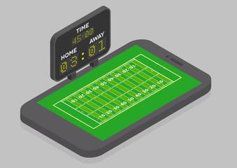 American Football Mobile Phone