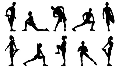stretch silhouettes