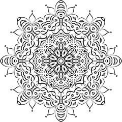 Mandala Ethnic Decorative