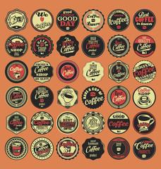 Coffee lovers badges
