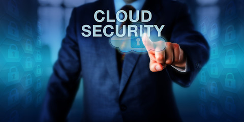 Network Administrator Pushing CLOUD SECURITY