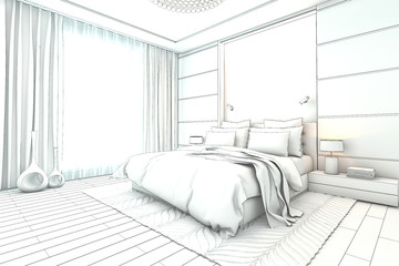 Search photos by darina1761 for Bedroom designs sketch