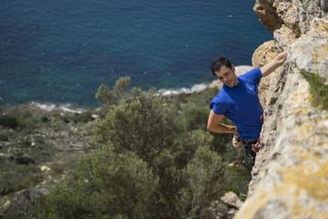 Climbing over the sea