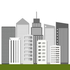 Modern Business City Concept