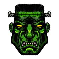 Frankenstein monster vector illustration