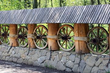 creative wooden bridge