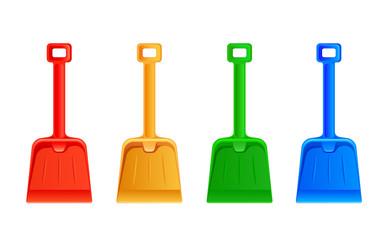 Set of shovel