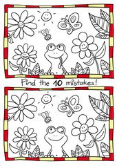 Frog - 10 mistakes