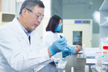 people do medical experiment in lab