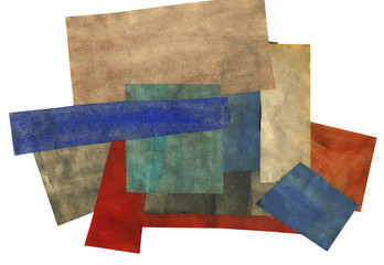 Paper Collage Artwork