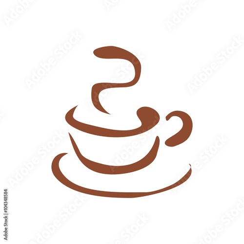 quotcoffee tea cup logo cafe abstractquot stock image and