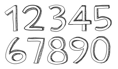 number in the format used for drawing.
