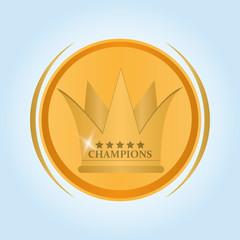 winner icon design