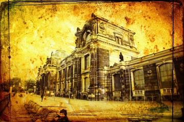 Dresden vintage illustration
