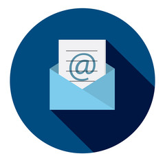 NEWSLETTER Vector Flat Style Web Icon