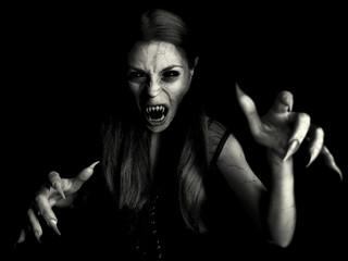 devil vampire woman
