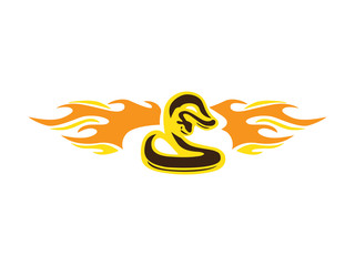 Cobra Snake Flame
