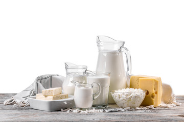 Printed roller blinds Dairy products Fresh dairy products