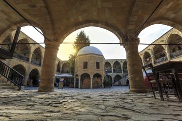 The Great Inn, Buyuk Han in Nicosia, Northern Cyprus