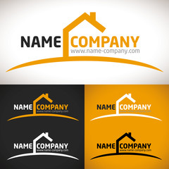 logo construction maison vente location