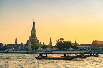 Wat Arun Ratchawararam Ratchawaramahawihan or Wat Arun is Temple