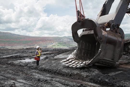 Mining Engineer in Lignite Mine